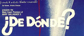 De Donde poster